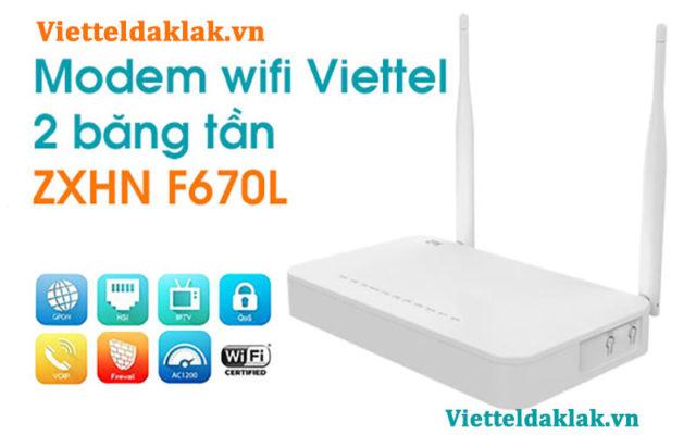 Wifi modem 2 băng tần Viettle
